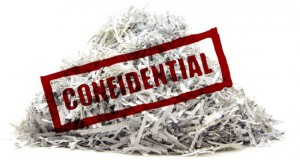 shredding confidential